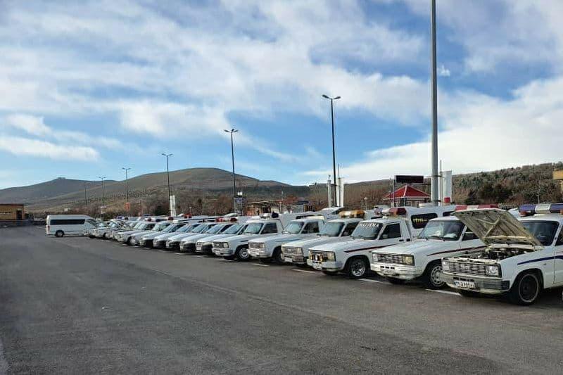 روال عادی خدمات رسانی خودروهای حمل متوفی در تبریز