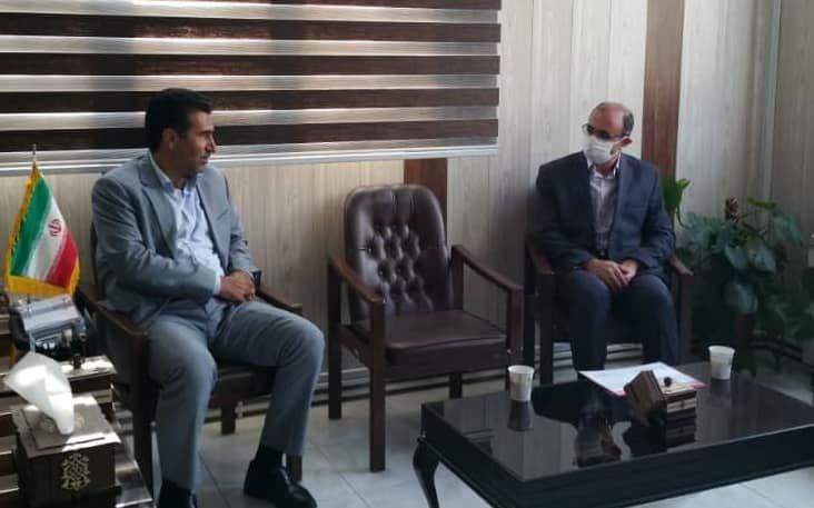 دیدار مدیر مخابرات منطقه آذربایجان شرقی با فرماندار کلیبر