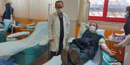 اهدای خون ۶۰۷ نفر در شهرستان مراغه