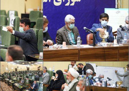 انتخابات هیات رئیسه شورای ششم در فرمانداری تبریز
