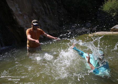 طبیعت تابستانی روستای یوزبند