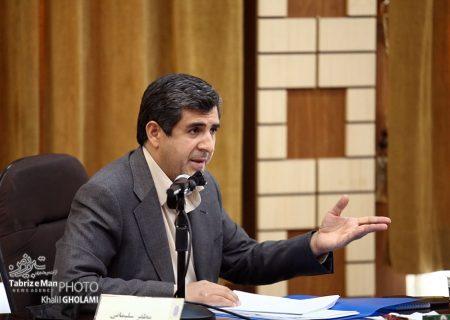 حضور سلیمانی در صحن شورای شهر تبریز