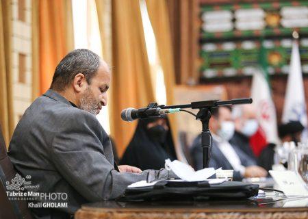 حضور فاتح در صحن شورای شهر تبریز