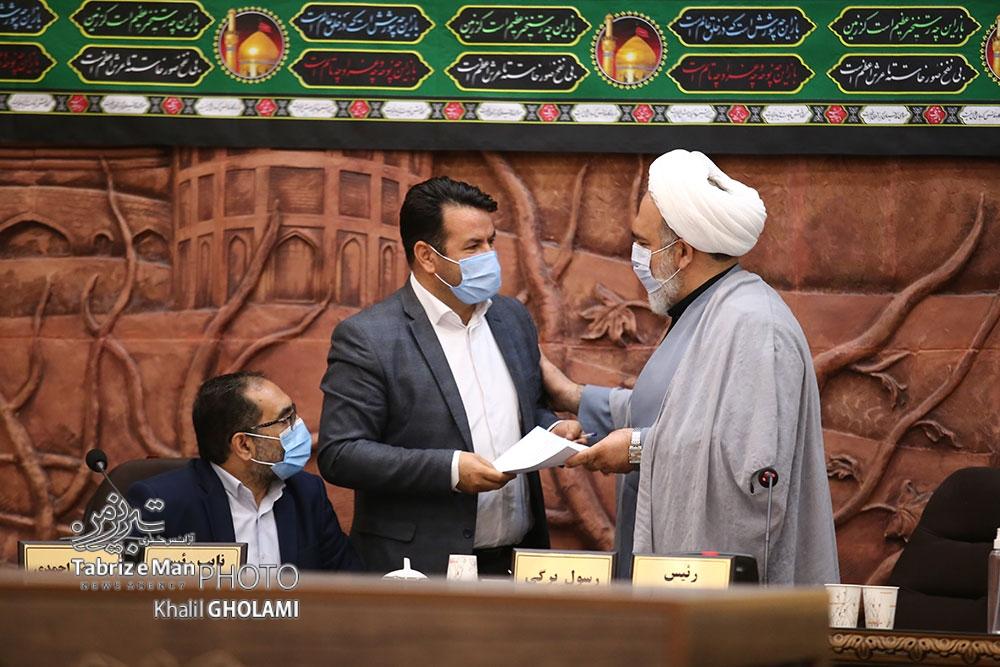 بابایی اقدم استعفای خود را تقدیم رییس شورای شهر تبریز کرد + متن استعفا
