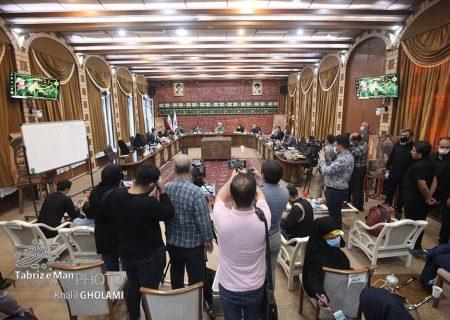 پوشش خبری جلسه انتخاب شهردار