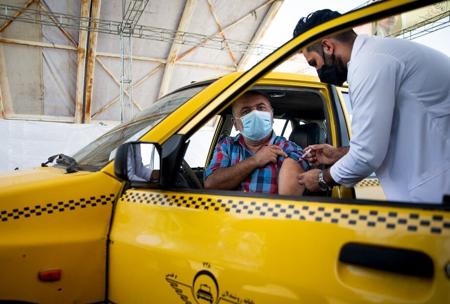 پایان مرحله اول واکیسناسیون رانندگان تاکسی تبریز