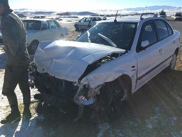 حادثه رانندگی در آذربایجانشرقی یک کشته و ۲ مصدوم برجا گذاشت