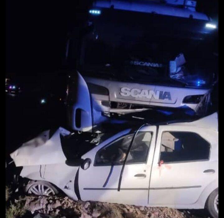 تصادف در جاده مراغه – هشترود ۳ کشته برجا گذاشت