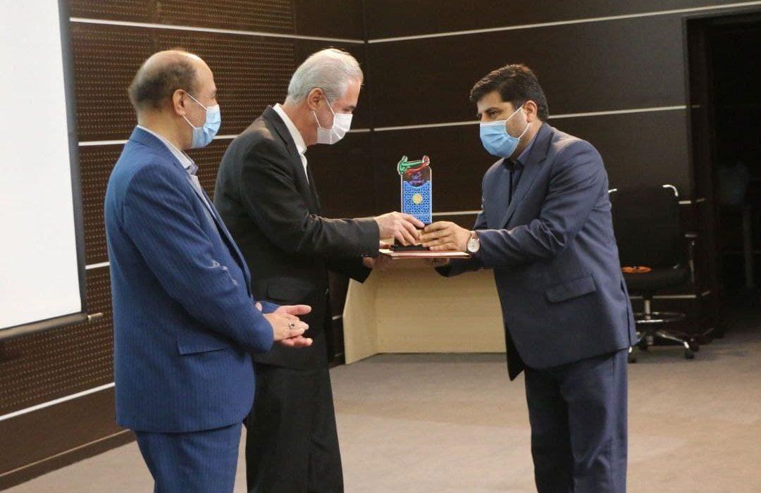 جهادکشاورزی آذربایجانشرقی؛ دستگاه برتر جشنواره شهیدرجایی در ارائه خدمات برتر