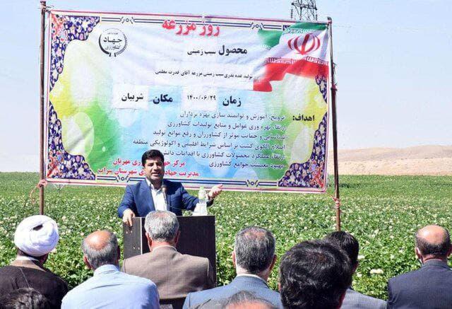 تولید غده بذری سیب زمینی برای اولین بار در آذربایجان شرقی
