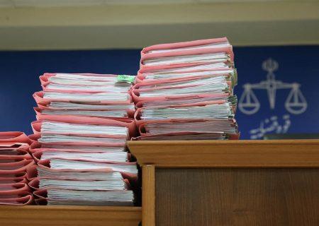 افزایش ۱۵ درصدی پرونده های ورودی به دادگستری بناب