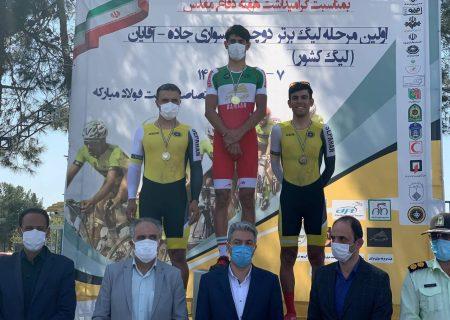رکابزنان تبریزی مقام دوم اولین مرحله لیگ برتر جاده را کسب کردند