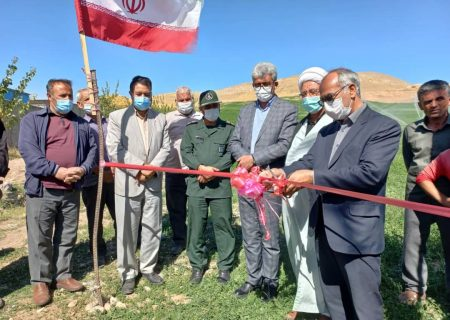 افتتاح طرح آبیاری تحت فشار با ۱۲۵ میلیون تومان کمک بلاعوض در هشترود
