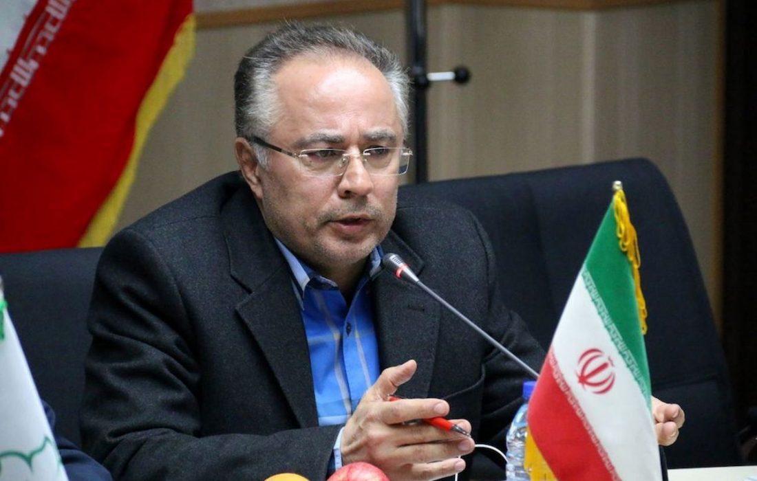 شهرام دبیری رئیس شورای اسلامی استان شد